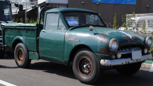 Old days Pickup Truck