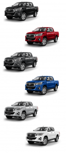 Double Cab Revo Pickups 2018