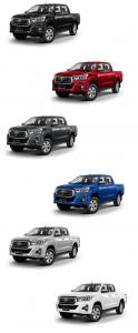Revo Double Cab Pickups 2018