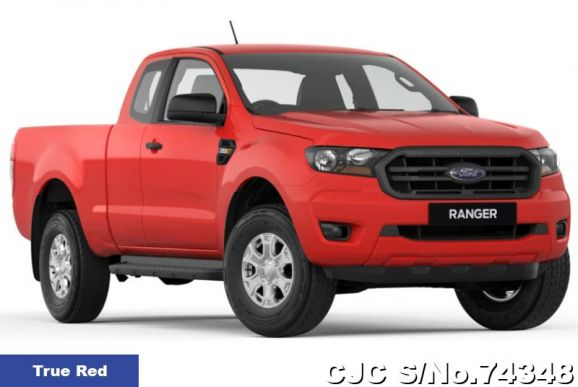 Ford Ranger Aluminium Metallic Manual 2019