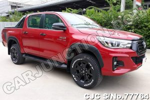 Toyota Hilux Revo Rocco Red AT 2019 2.8L Diesel