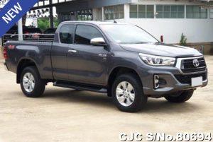 Toyota Hilux Revo Gray Manual 2017 2.8L Diesel