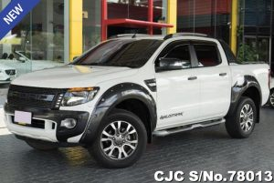 Ford Ranger White Automatic 2014 3.2L Diesel
