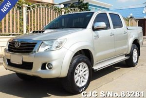 Toyota Hiux Vigo Silver 2014 3.0L AT Diesel