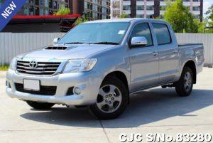 Toyota Hilux Vigo Gray Manual 2014 2.5L Diesel
