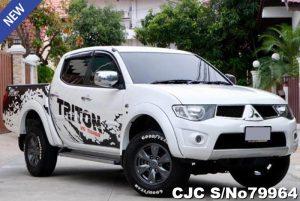 Mitsubishi triton White Automatic 2013 2.5L Diesel