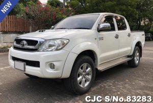 Toyota Hilux Vigo White Manual 2011 3.0L Diesel