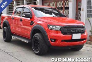 Ford Ranger Red At 2019 2.0L Diesel
