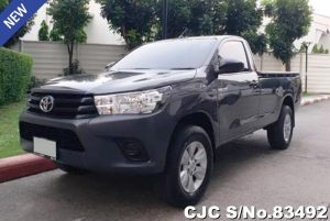 Toyota Hilux Revo Gray Manual 2017 2.8L Diesel