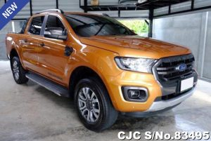 Ford Ranger Orange Automatic 2018 2.0L Diesel