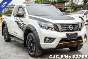 Nissan Navara White Manual 2019 2.5L Diesel