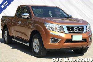 Used Nissan Navara Orange Automatic 2015 2.5L Diesel for Sale