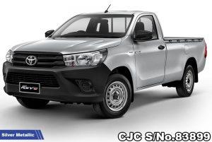 Brand New Toyota Hilux Revo Silver Metallic Manual 2020 2.4L Diesel for Sale