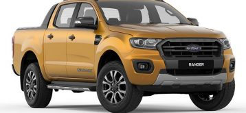 Brand New Ford Ranger Yellow AT 2020 2.0L Diesel for Sale