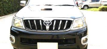 Used Toyota Hilux Vigo Black MT 2011 2.5L Diesel for Sale