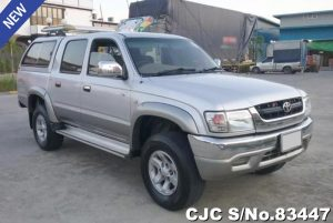 Toyota Hilux Silver Manual 2004 2.5L Diesel