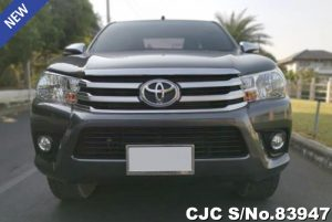 Used Toyota Hilux Revo Gray Automatic 2017 2.4L Diesel