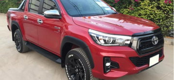 Used Toyota Hilux Revo Rocco Red Manual 2018 2.8L Diesel For Sale