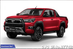toyota hilux 2021 red